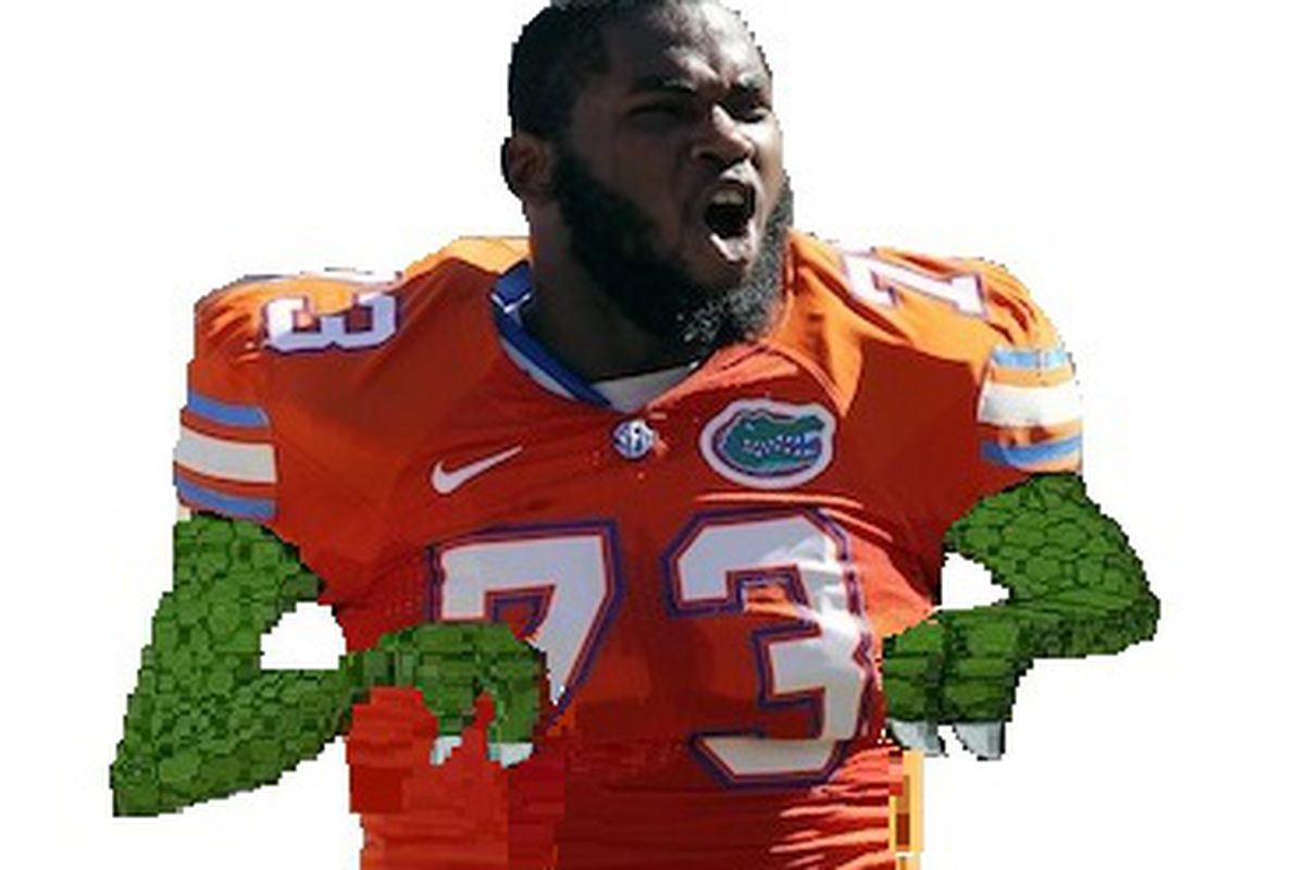 Shariff Floyd has short arms. And it's tragic.