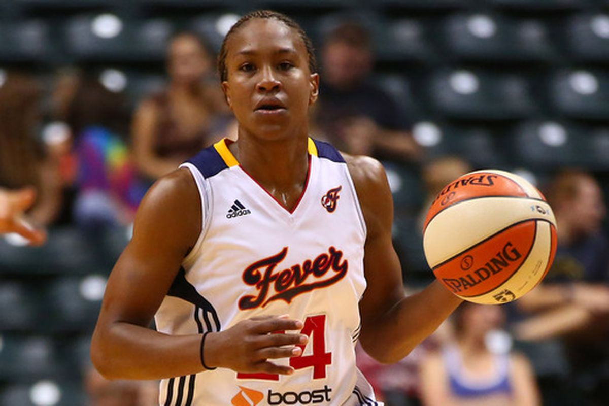 Tamika Catchings filled up the stat sheet on Sunday.