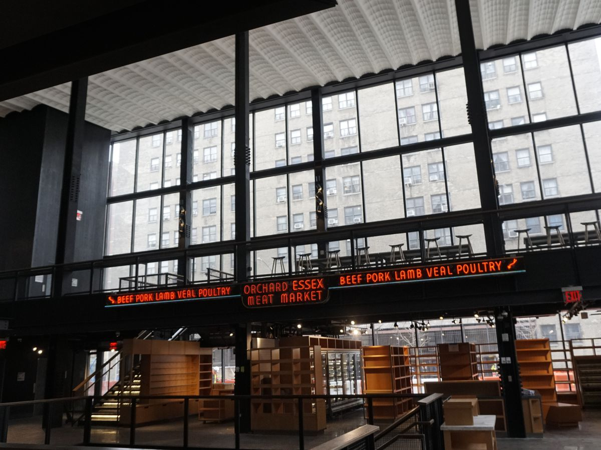 2adbe8505 The old Essex Street Market is now gone, with 21 of its vendors moving into  a brand new venue on the other side of Delancey Street.