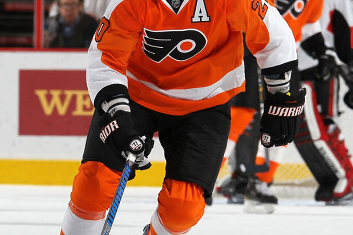 Another scare for the scary Pronger but he's OK