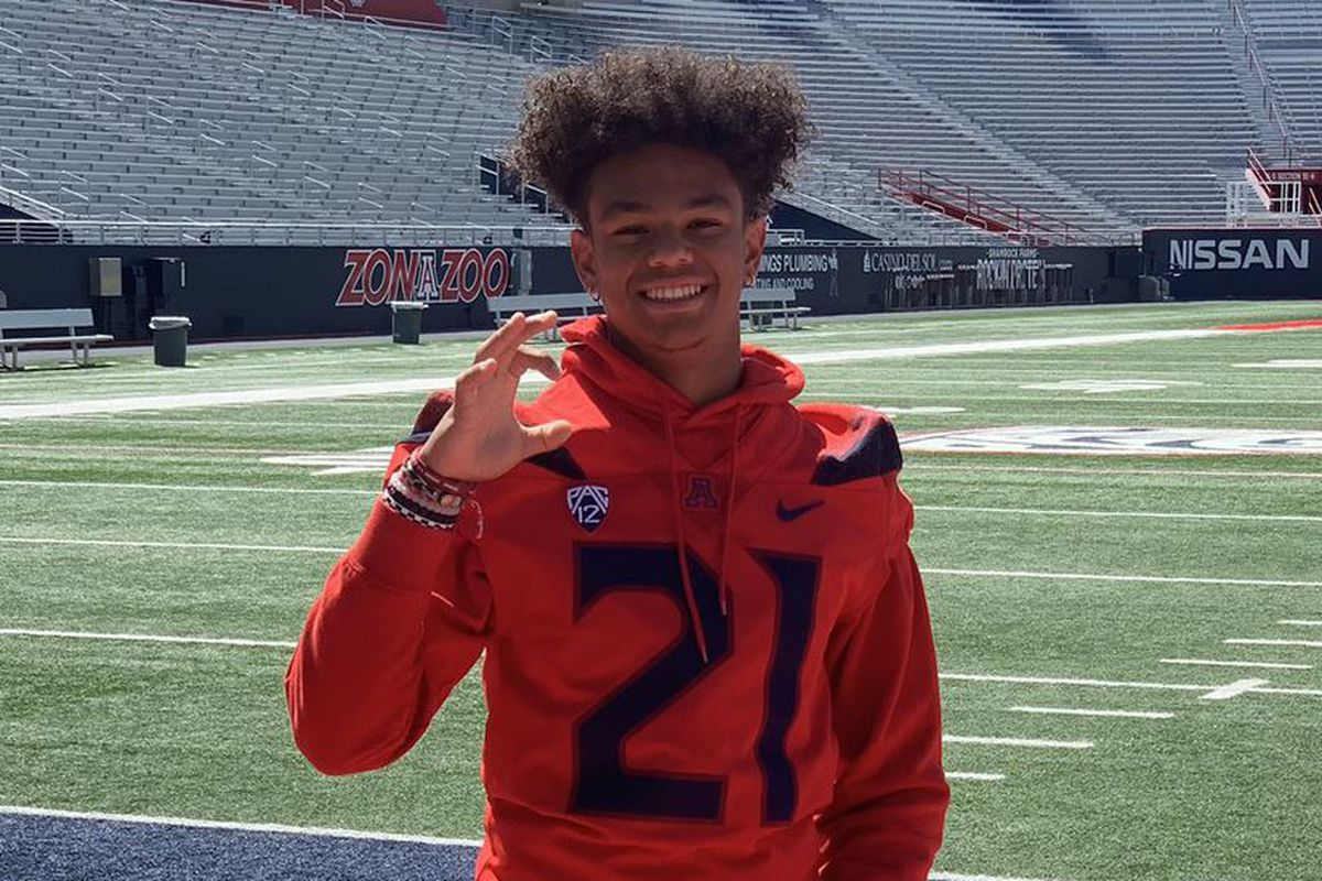 arizona-wildcats-stevie-rockers-tucson-2021-early-signing-period-recruiting-football