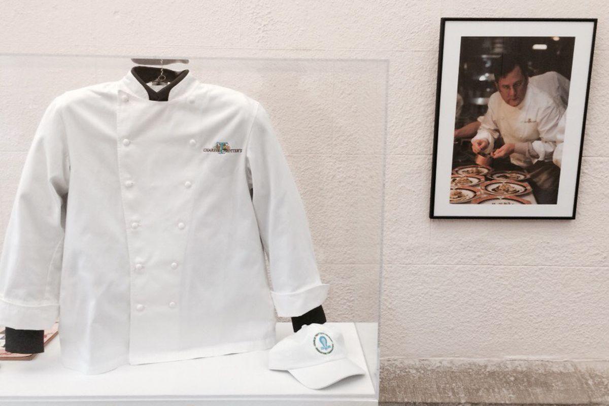 Charlie Trotter's chef jacket