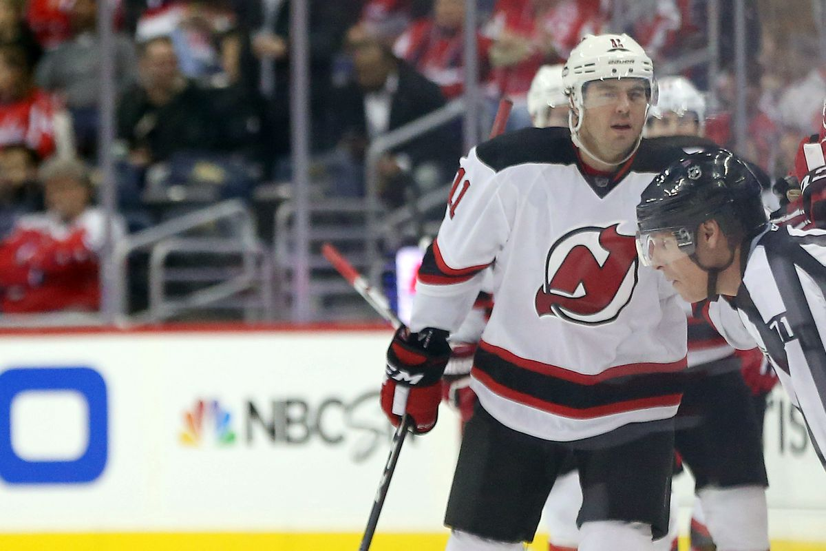 P.A. Parenteau has 22 points (12-10-22) in 46 games with the Devils this year.  Could he be an option on wing?