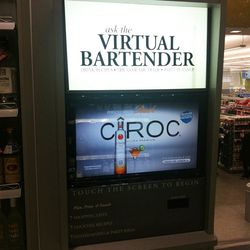 One of the wine and spirit shop's many perks: a virtual bartender that generates cocktail recipes and more