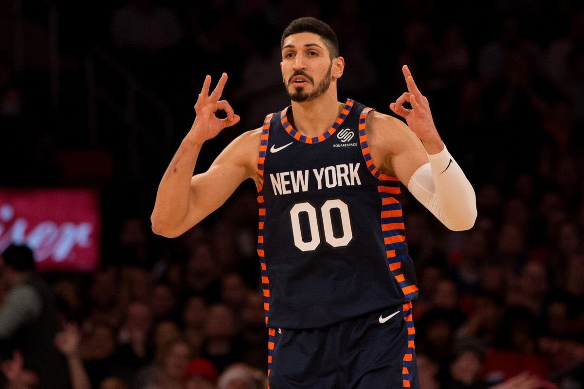 damian lillard helped convince enes kanter to sign with
