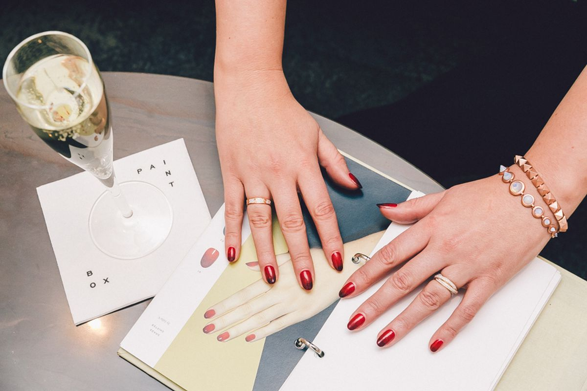 Sophisticated Nail Art From Posh NYC Salon Paintbox - Racked