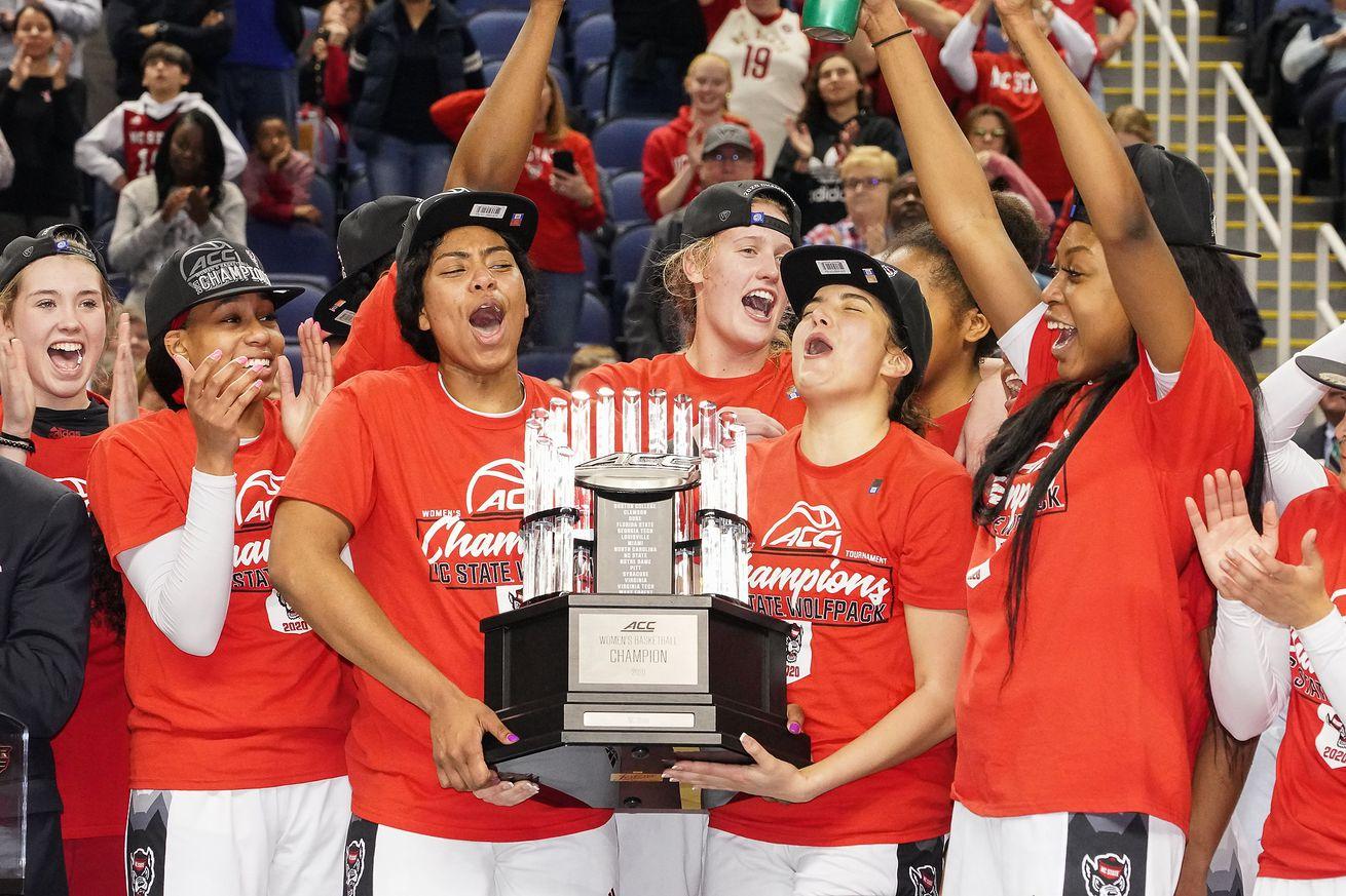 NCAA Womens Basketball: ACC Tournament NC State vs Florida State