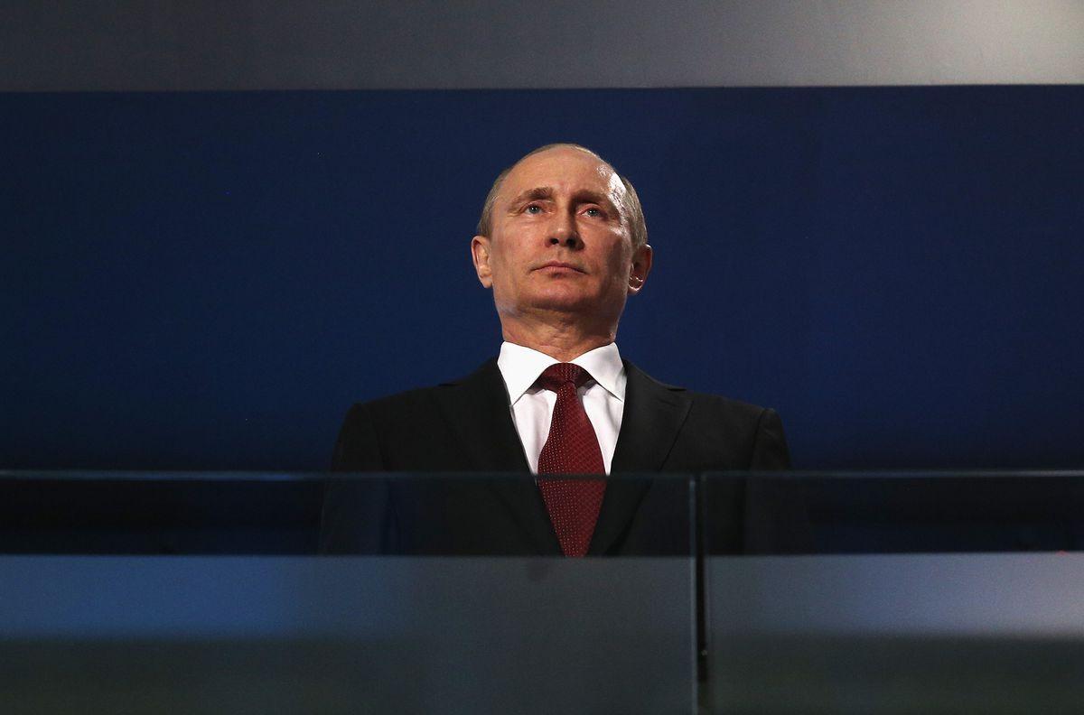 Russian President Vladimir Putin in Sochi (Hannah Peters/Getty Images)
