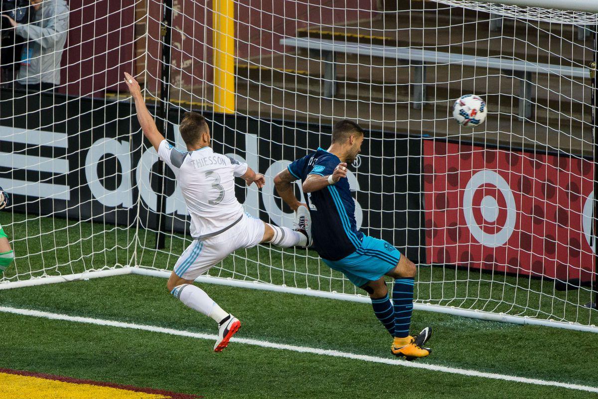 MLS: Seattle Sounders FC at Minnesota United FC
