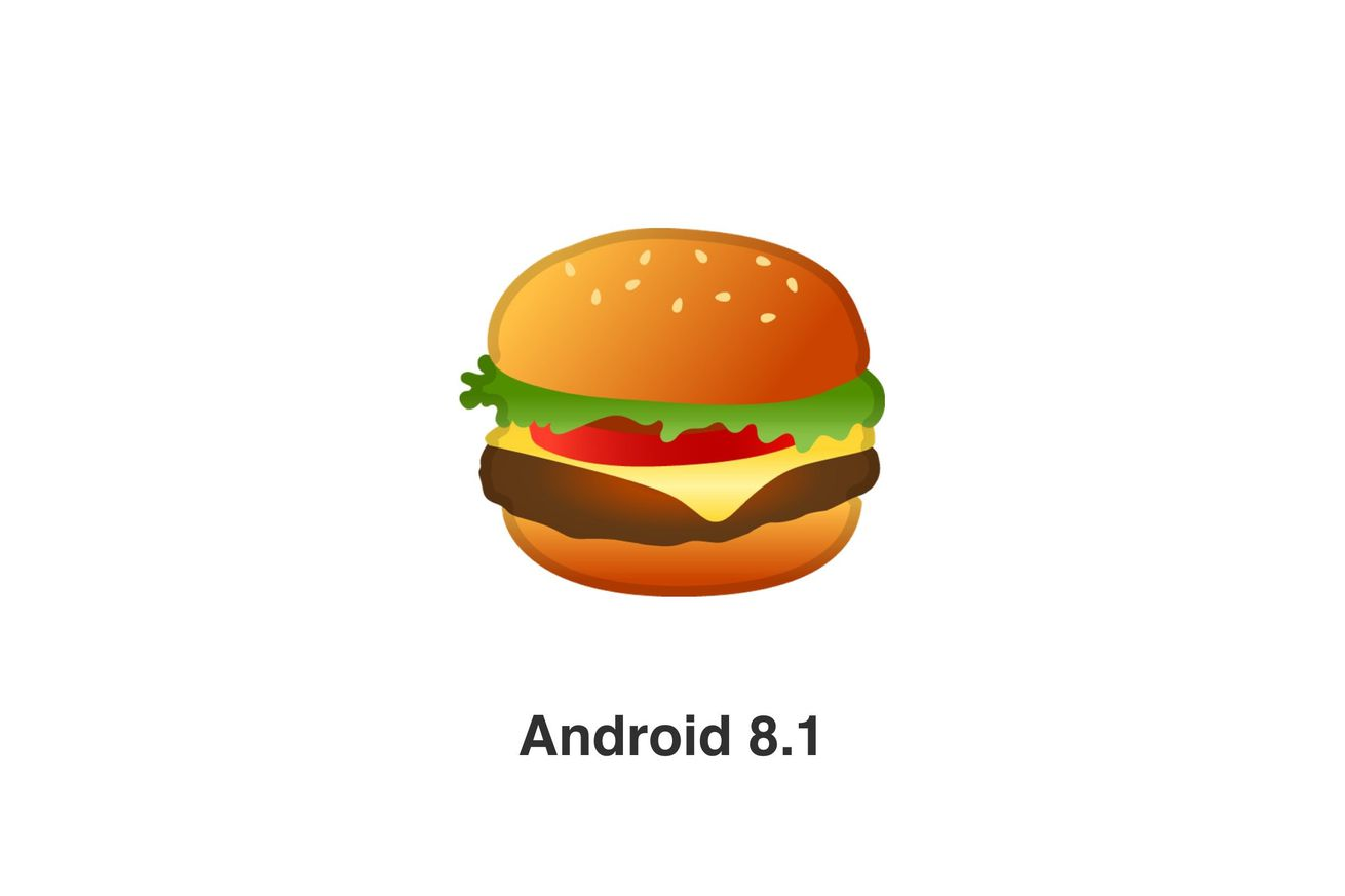 google has learned the proper way to make a cheeseburger in android 8 1