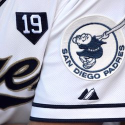 Padres wore a 19 home plate patch on their jerseys, above their hearts, to honor Tony Gwynn. These patches, along with the Jerry Coleman star patches, will continue to adorn Padres' jerseys for the remainder of the season.
