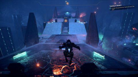 Mass Effect Andromeda Guide Taming A Desert Heleus Assignment