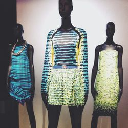 Stopping by the <b>Proenza Schouler</b> exhibit at <b>Le Bon Marché</b> department store. Not only is it great to see the clothes from so many different collections all in one place, but it's also the perfect excuse to pick up a <b>Laura Mercier</b> <a hr