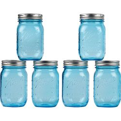 """...and be served in <a href=""""http://www.paper-source.com/cgi-bin/paper/item/Anniversary-Ball-Mason-Jars/2709_023/519540.html"""">Anniversary Ball Mason Jars</a> ( $17.95/6pk at Paper Source). Don't forget the paper straws."""