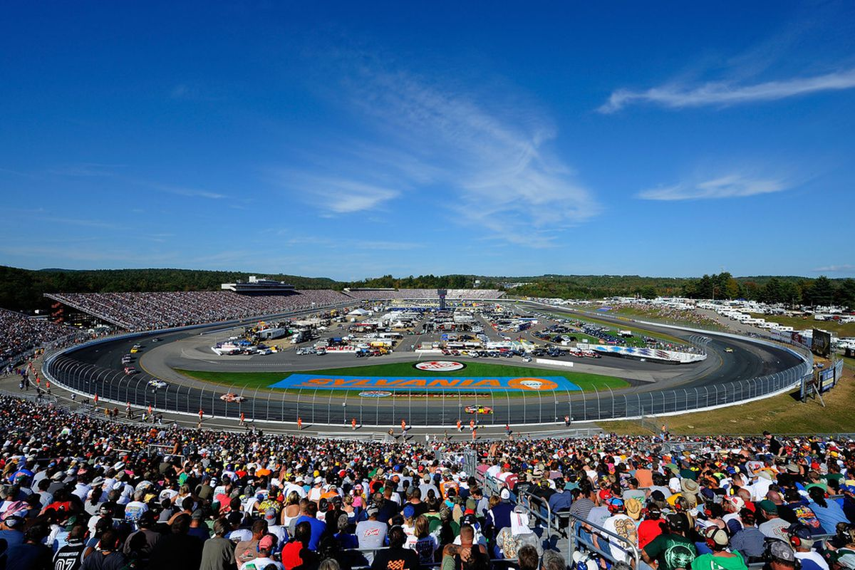 Loudon New Hampshire Nascar Race