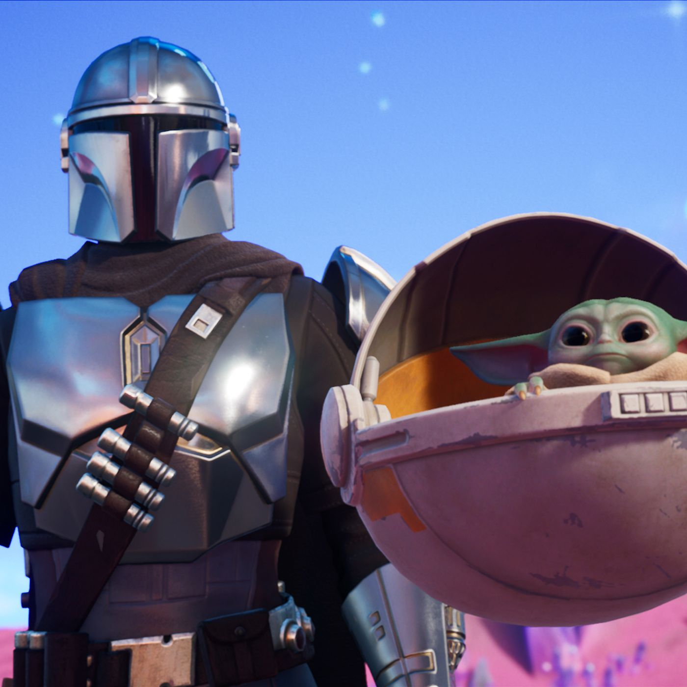 Fortnite Chapter 2 Season 5 Adds Baby Yoda And The Mandalorian The Verge The exotics are spread out across the map a fair amount, though the storm scout and night hawk are. fortnite chapter 2 season 5 adds baby