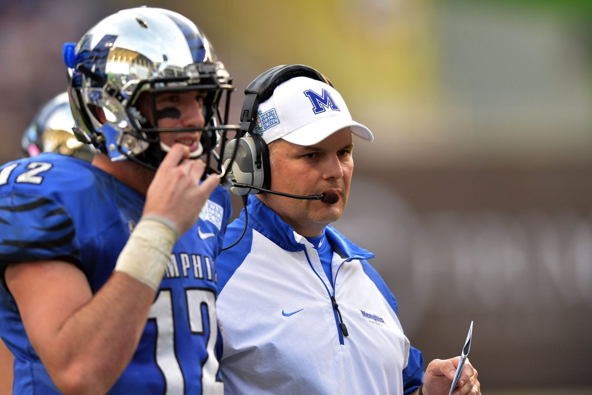 Coach Fuente with Paxton Lynch