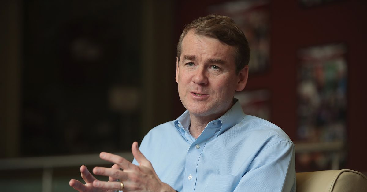 Presidential candidate Michael Bennet is way behind in the polls. But he believes he can win the nomination — and beat Trump.