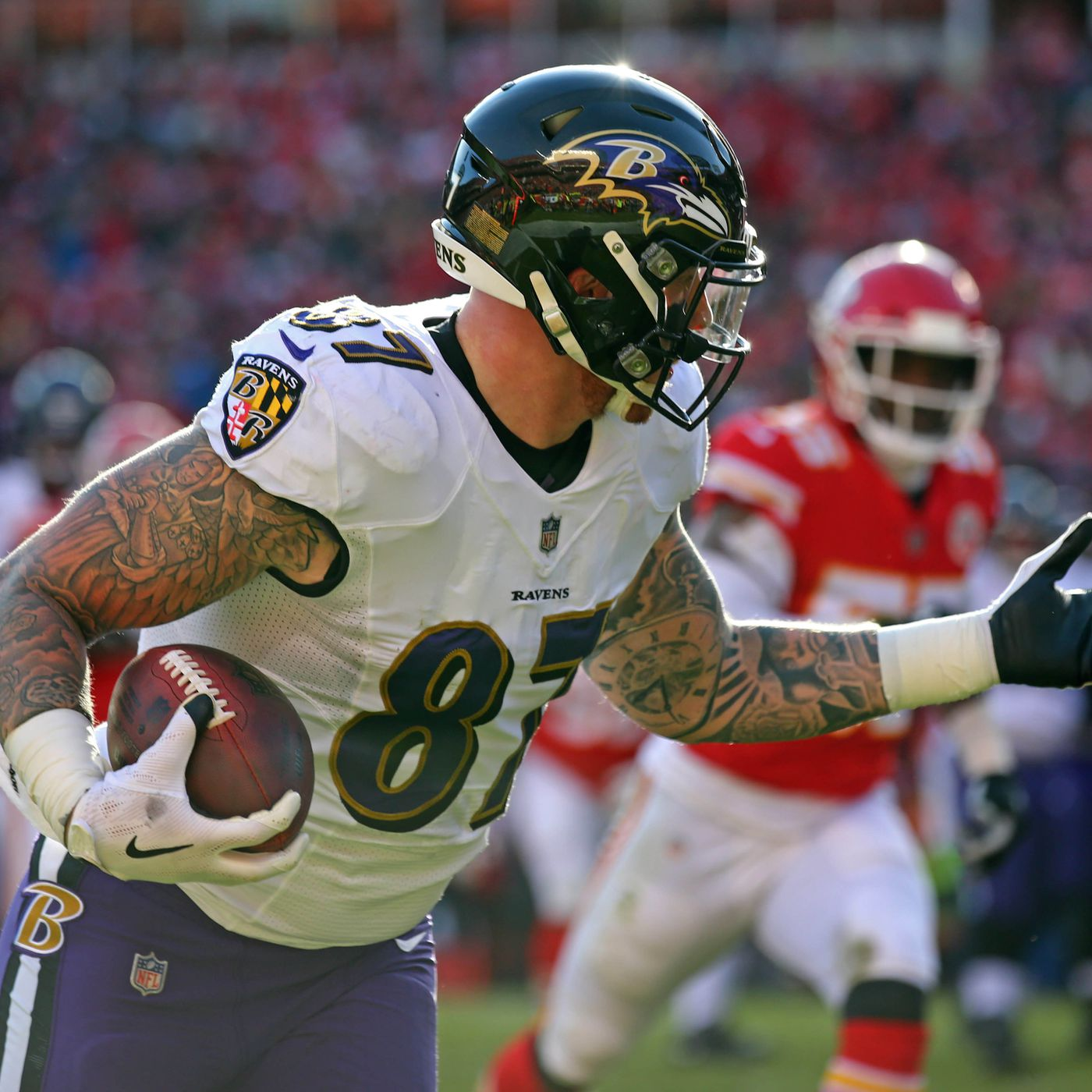 Former Ravens TE Maxx Williams signs with the Arizona Cardinals ...