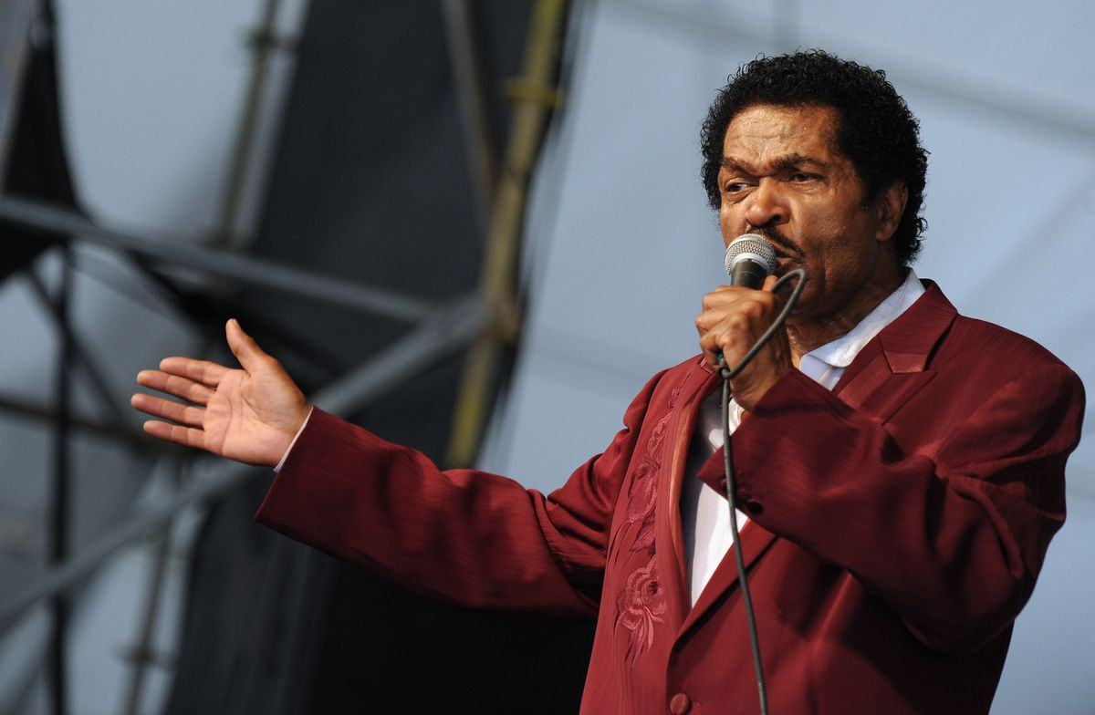 Blues Artist Bobby Rush performs during the 2012 New Orleans Jazz & Heritage Festival on April 28, 2012 in New Orleans, Louisiana.   Rick Diamond/Getty Images