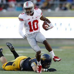 Philly Brown of the Buckeyes.