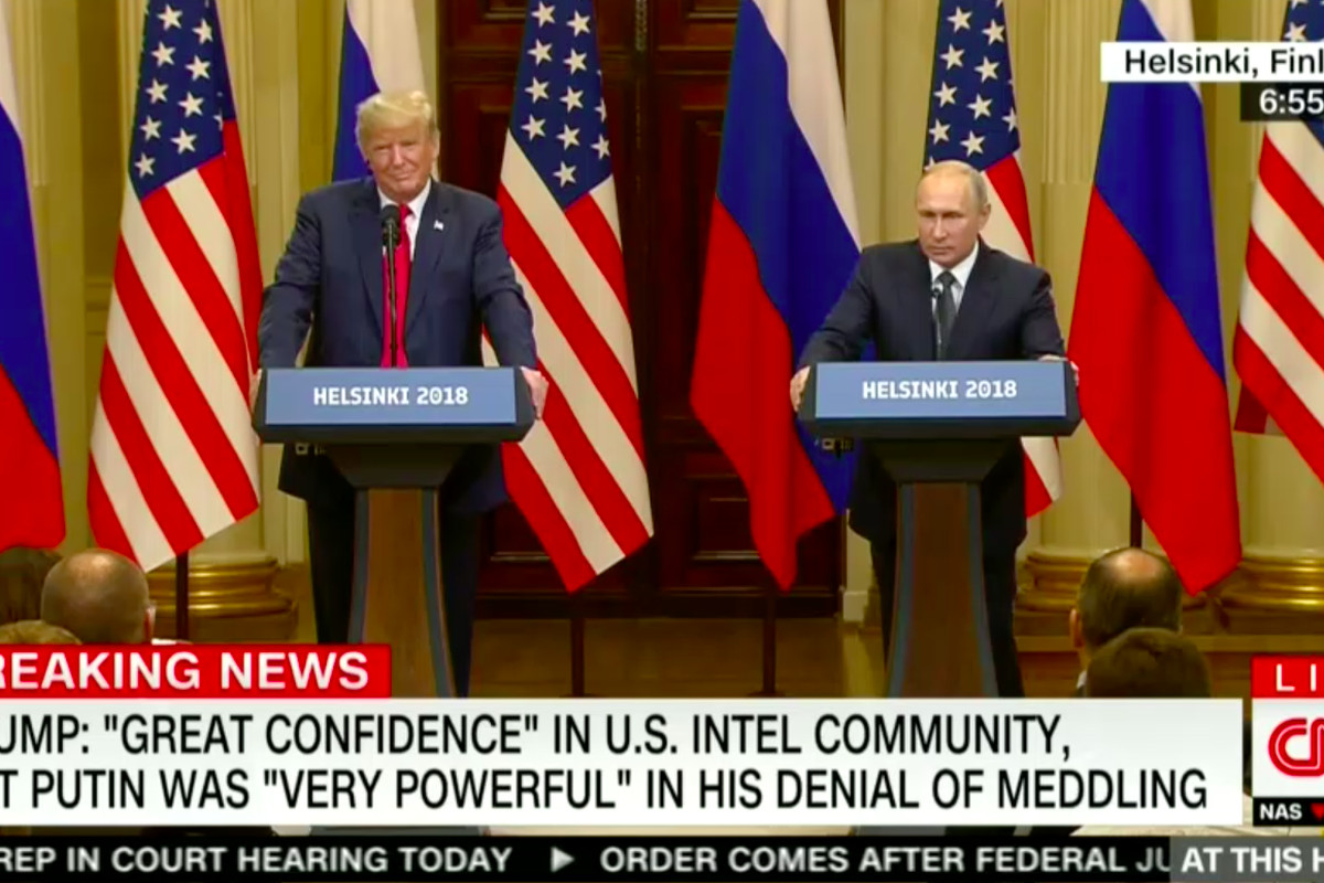 Image result for trump putin press conference helsinki