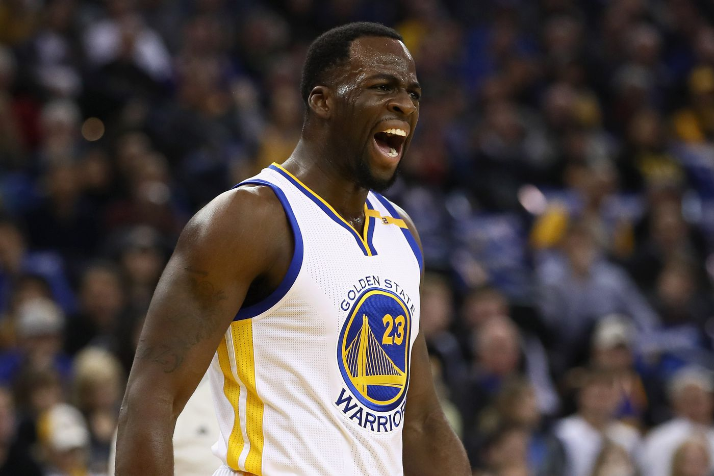 Draymond Green recorded the 1st NBA triple double without the