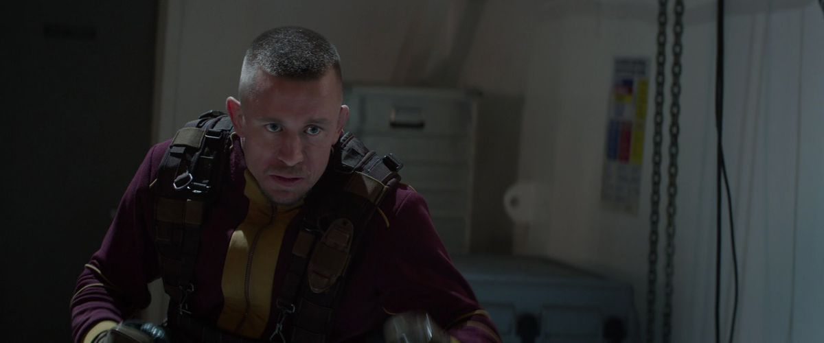 Georges St-Pierre as Georges Batroc in Captain America: The Winter Soldier.