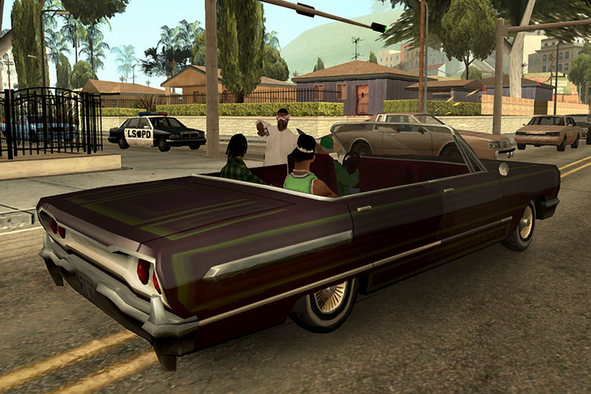 Grand Theft Auto: San Andreas makes a surprise debut on ...