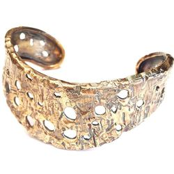 <b>Species by the Thousands</b> Crater Cuff, $100