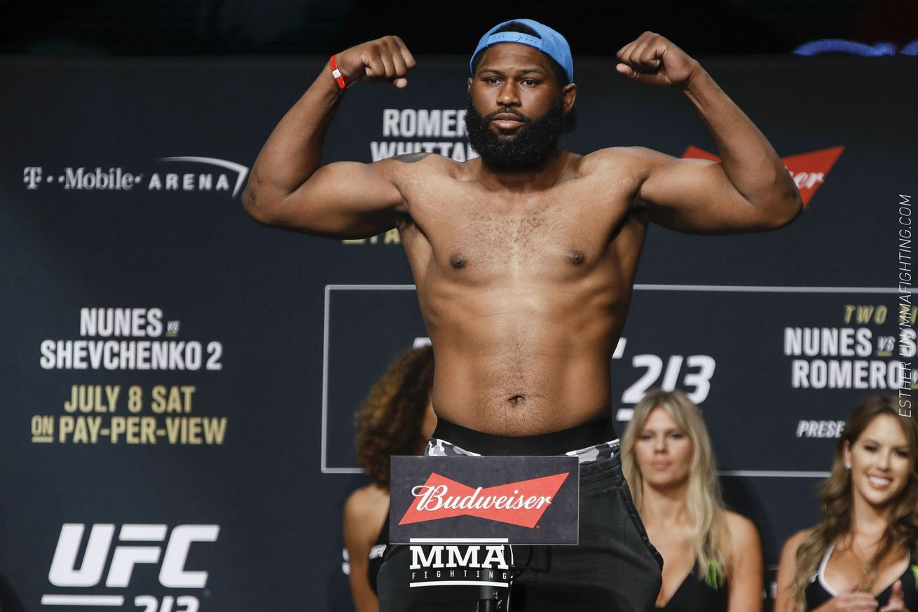 community news, UFC 213 results: Curtis Blaydes takes decision over Daniel Omielańczuk