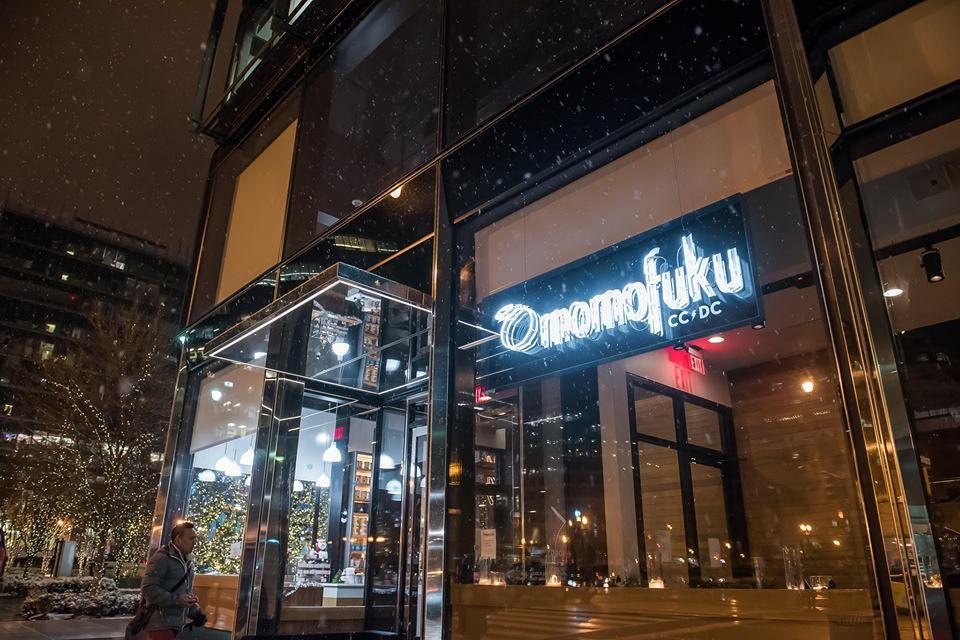 Momofuku DC sign