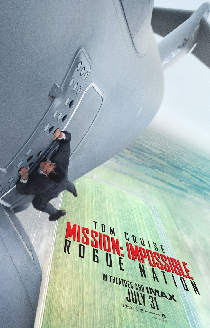 Mission: Impossible —Rogue Nation poster (PARAMOUNT)