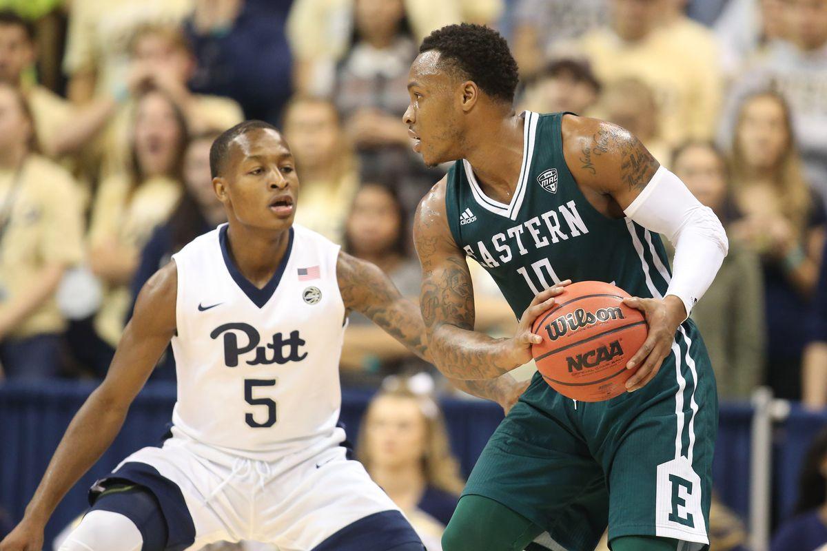 NCAA Basketball: Eastern Michigan at Pittsburgh