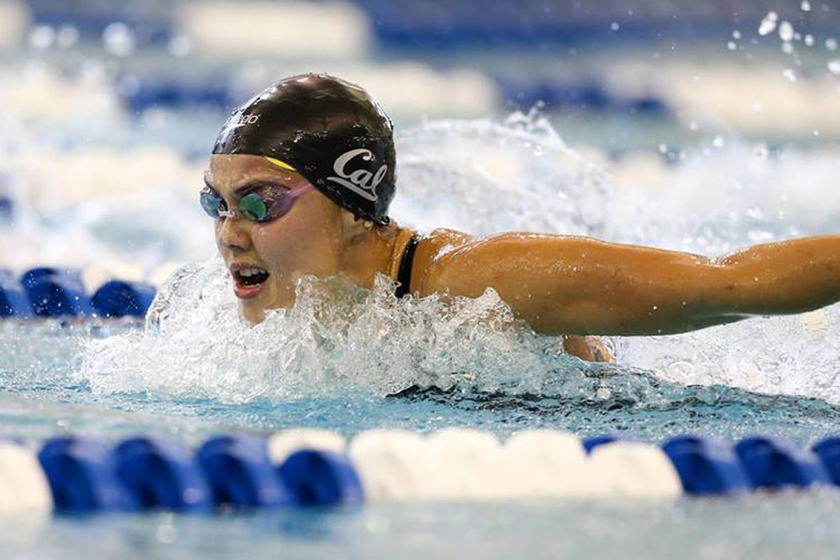 Cal rising junior Noemie Thomas will represent Canada in 100 fly and probably 400 medley relay
