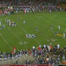 And here's your separation in the footrace.