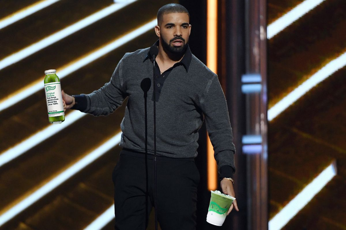 Drake with MatchaBar