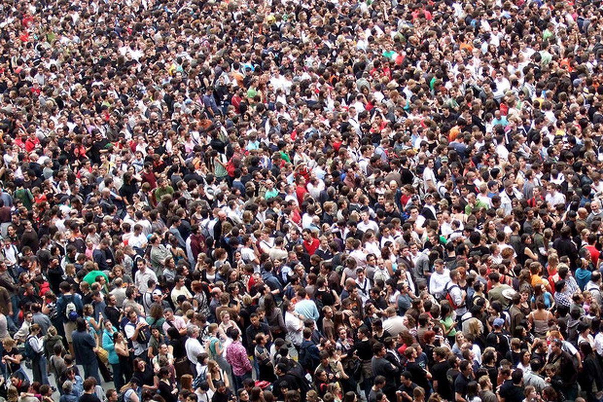 crowd flickr