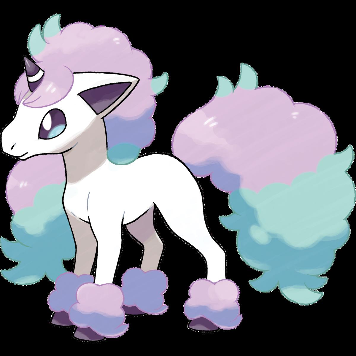 Galarian Ponyta is exclusive to Pokémon Shield