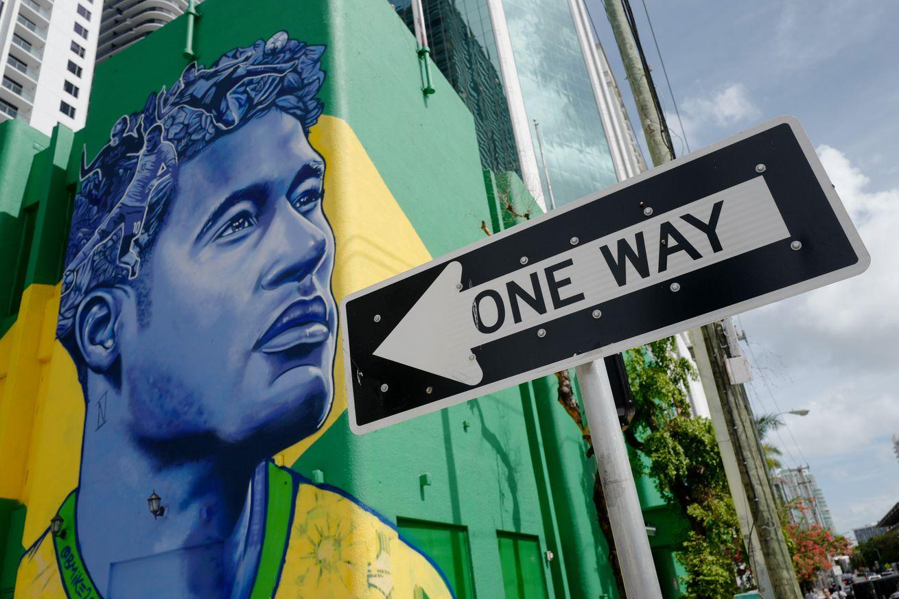 "Neymar now, a necessary evil"""