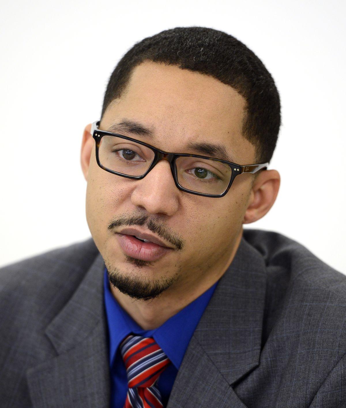 <small><strong>18th Ward aldermanic candidate Michael Davis.   Michael Schmidt/Sun-Times</strong></small>