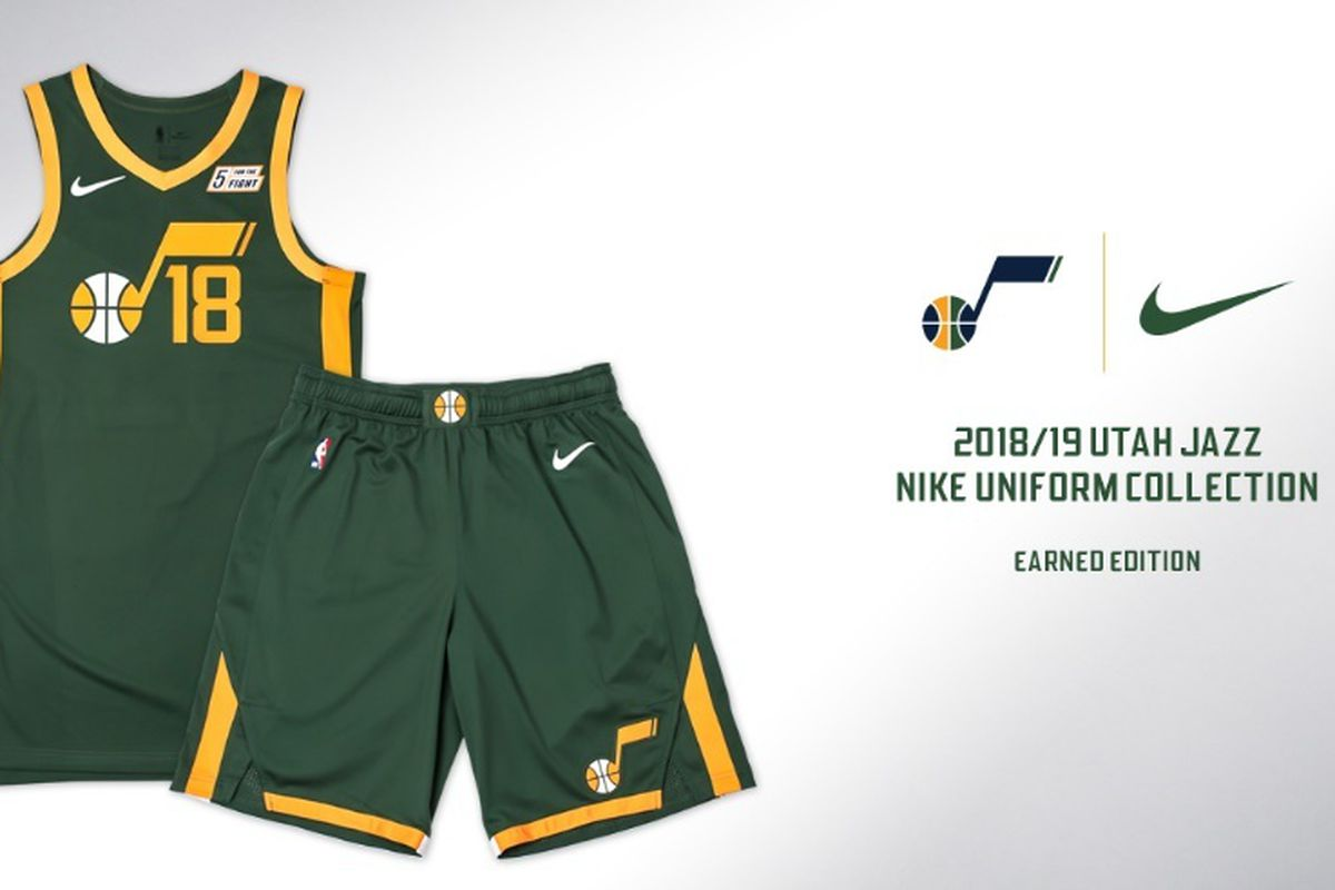 big sale 26463 59dd4 Utah Jazz to debut green Earned Edition jerseys for ...