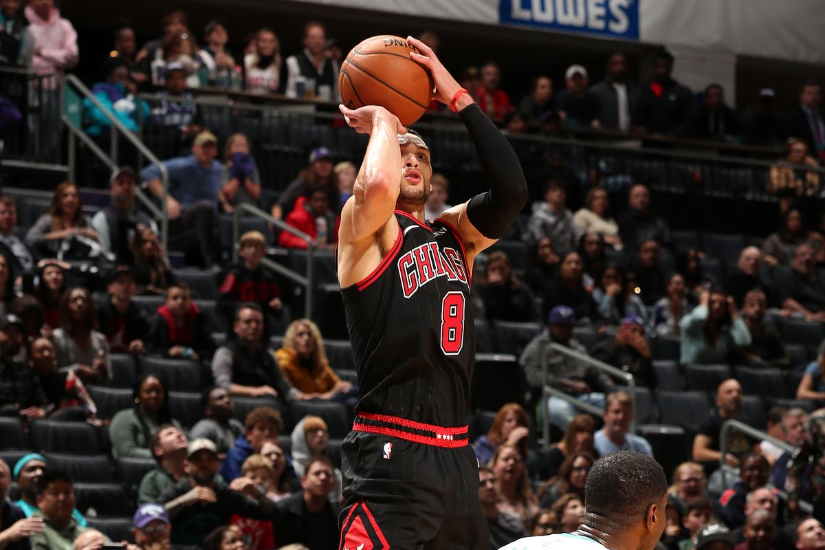 How Zach LaVine bailed out the Bulls' terrible coach with 13 threes and a  game-winner - SBNation.com