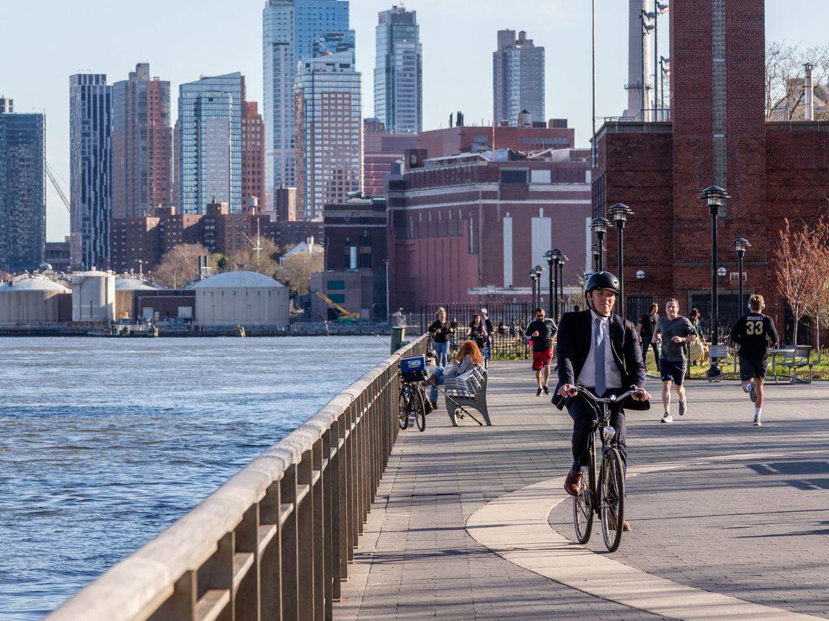 best beginner bike rides in new york city curbed ny. Black Bedroom Furniture Sets. Home Design Ideas