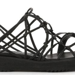 Clay Black sandal, reg $450. Sale price: $225.