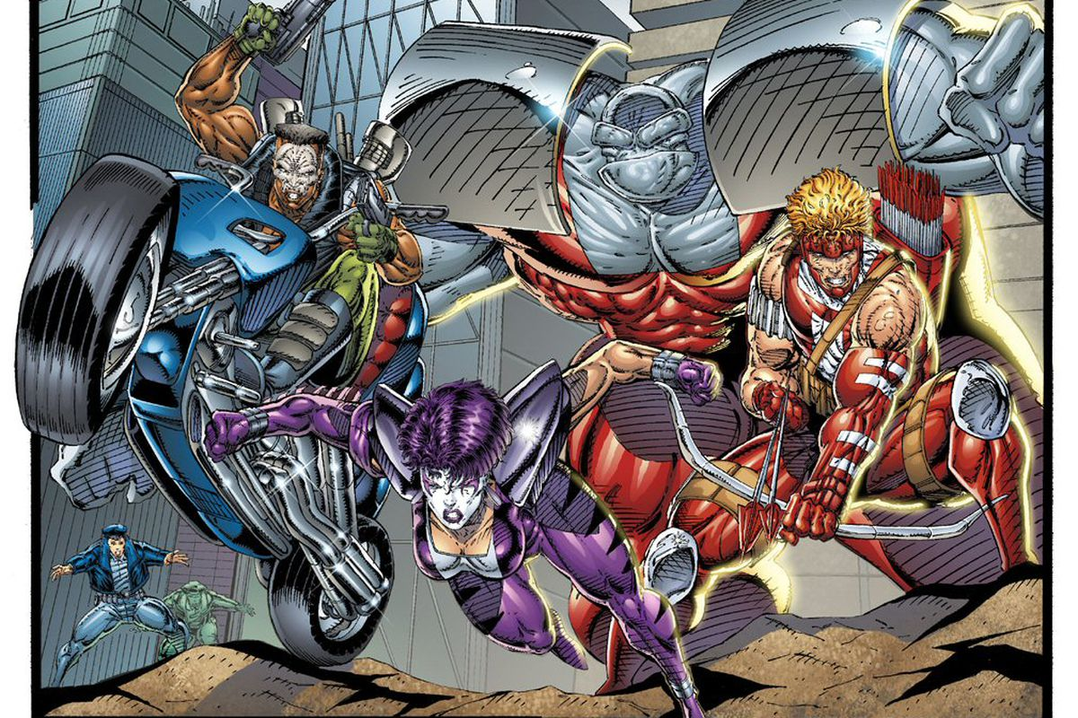 40 more of the worst rob liefeld drawings