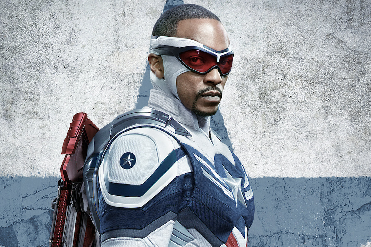 """Sam Wilson/Captain America (Anthony Mackie) in """"The Falcon and the Winter Soldier."""""""