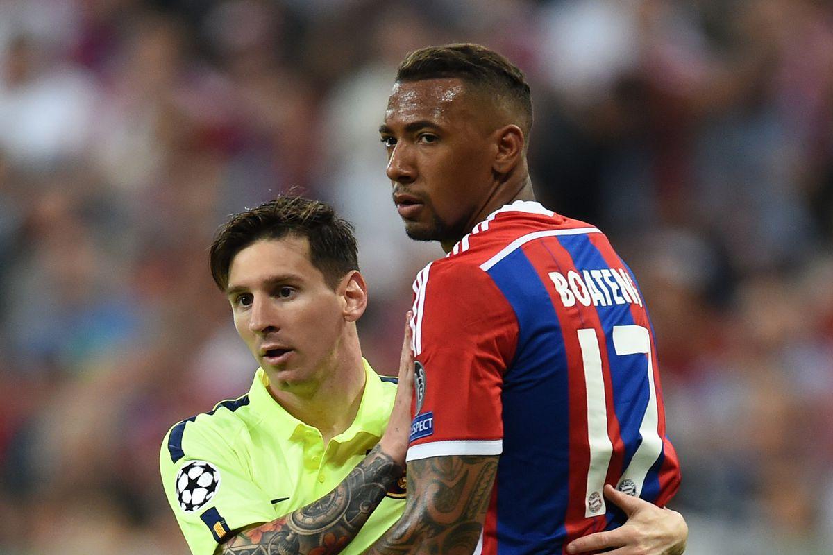Fussball CHL 14/15 Halbfinale: FC Bayern Muenchen - FC Barcelona