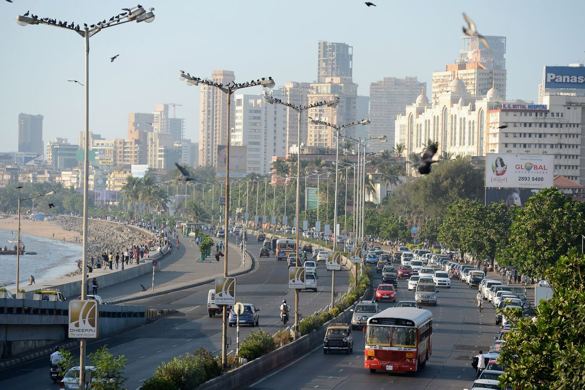 How India Fits Into The Global Economy It May Not Be China But At Arny Says Quotthe Schematic Diagram Above Shows That Vast Majority Traffic In Mumbai Gareth Copley Getty
