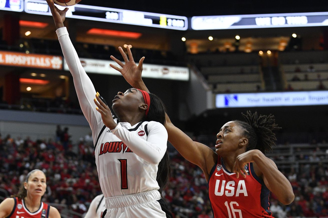 NCAA Basketball: TEAM USA vs Louisville